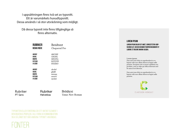 Claesson Konsult - Grafisk ID12
