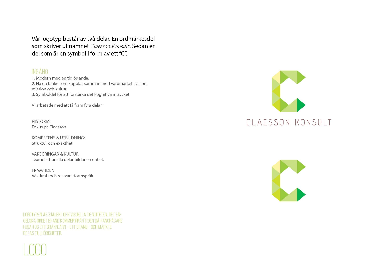 Claesson Konsult - Grafisk ID8
