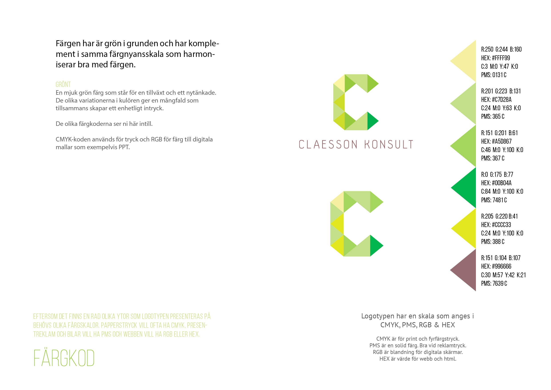 Claesson Konsult - Grafisk ID9
